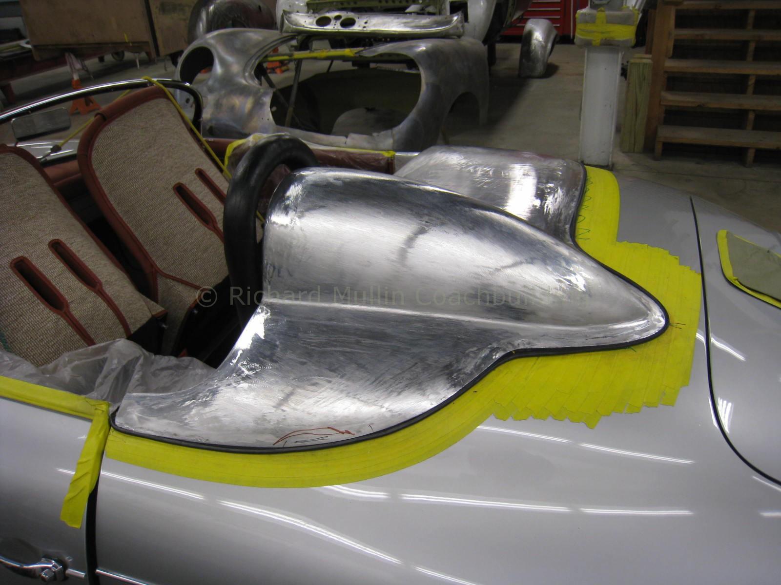 356 Porsche Speedster Aluminum Tonneau Cover Richard