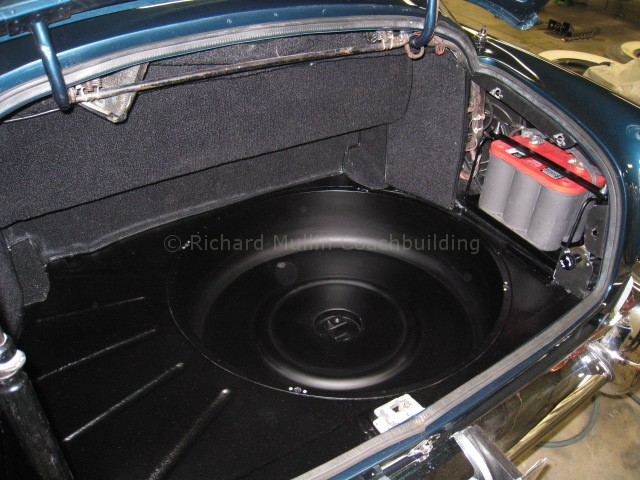 Aston Martin Trunk Spare Tire Well A Life Long Passion